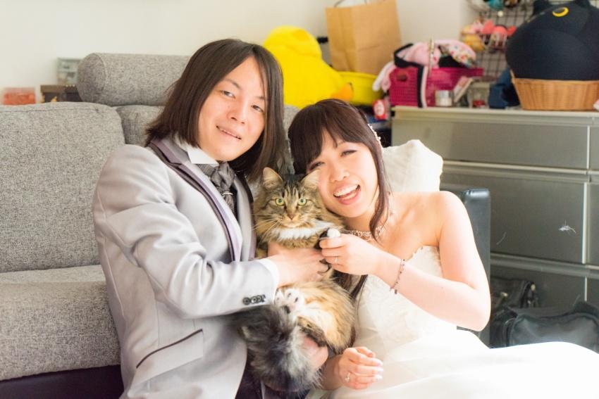猫と一緒に記念写真を撮影できる出張タイプの写真スタジオ【ペットショット】cat-photo004