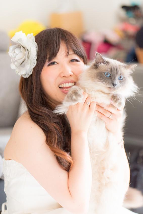 猫と一緒に記念写真を撮影できる出張タイプの写真スタジオ【ペットショット】cat-photo021